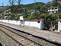 201908 Platform of Chatan Station.jpg