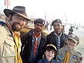 2019 Jan 19 - Kumbh Mela - Bharat Scouts and Boy Scouts of America Together 3.jpg