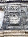 2020-09-19 Inscriptions sur la façade du 9 rue Castelnau d'Auros (Bordeaux) 01.jpg
