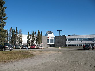 Chisasibi - Image: 20 Chisasibi Administrative Center