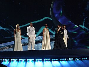 "Senhora do mar (Negras águas) - Vânia Fernandes performing ""Senhora do mar (Negras águas)"" for Portugal."