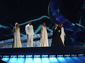 Portugal in the Eurovision Song Contest 2008 - Fernandes at the Eurovision 2008 semi-final