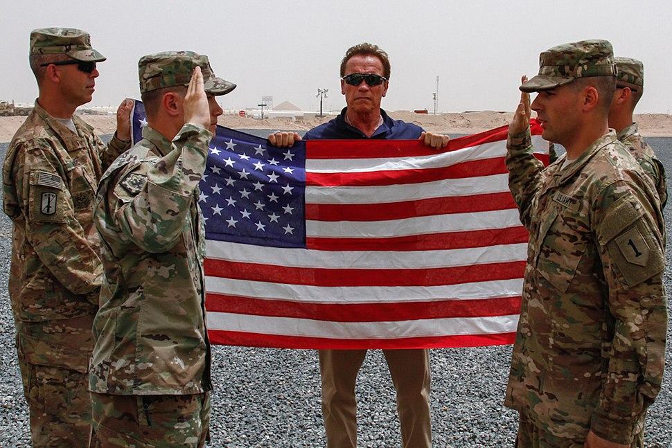 2562670 Arnold Schwarzenegger in Kuwait 2016