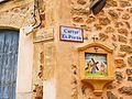 27 Estació del Viacrucis a la cantonada dels carrers des Porxo i Ramon Llull (Deià).jpg
