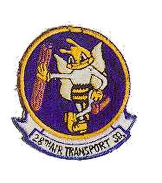 RAF Podington - Emblem of the 28th TCS