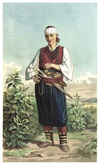 Doljani, Čapljina - Man from Doljani (1870).