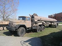 e2657d1dac6710 Zil 131 tractor with R-17 Elbrus SCUD missile