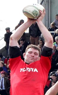 Donnacha Ryan Irish rugby union player