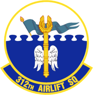 312th Airlift Squadron - Image: 312th Airlift Squadron Emblem
