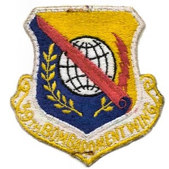 39th Air Base Wing - 39th Bombardment Wing Patch