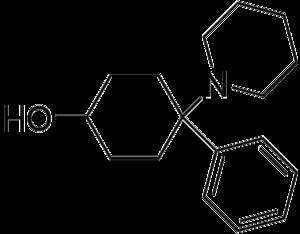 4-Phenyl-4-(1-piperidinyl)cyclohexanol - Image: 4 phenyl 4 (1 piperidinyl)cyclohex anol Line Structure