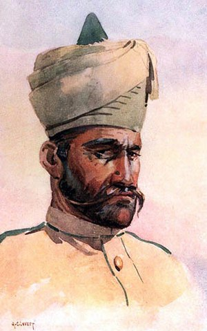 40th Pathans - Image: 40th Pathans, AC Lovett, 1910