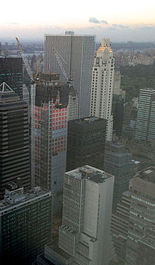 432 Park Avenue en construction