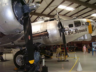 "Pima Air & Space Museum - Boeing B-17G Flying Fortress ""I'll Be Around"""