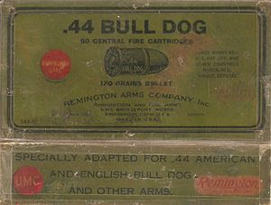 .44 Bull Dog - Remington/UMC.44 Bull Dog Box Labels