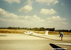 Schempp-Hirth Nimbus-3 - Image: 4X GHF NIMBUS 1985 Shaham Aloni