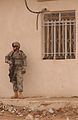53rd Inf. Bde. Soldier guards Iraqi police station DVIDS40266.jpg