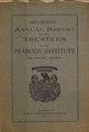 57th Annual Report Peabody Institute Library 1909 (IA 57thAnnualReportPeabodyInstituteLibrary1909).pdf