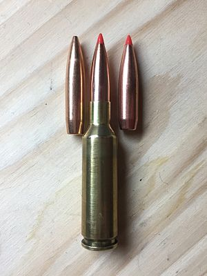 6.5×47mm Lapua - Image: 6.5x 47 and Long Target bullets