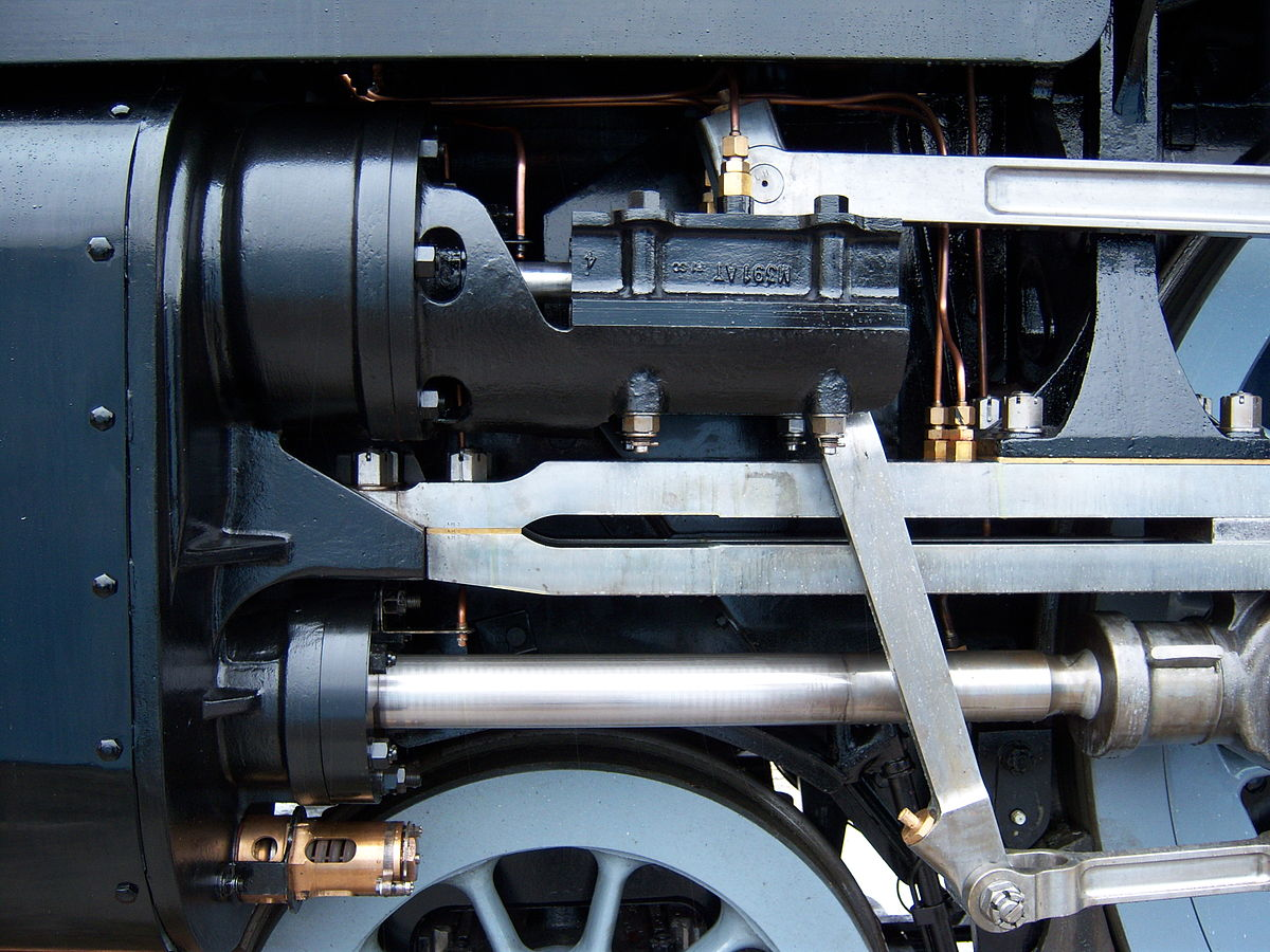 Cylinder Locomotive