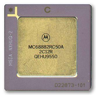 Motorola 68881 - A Motorola 68882 FPU