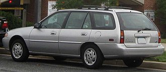 Ford Escort (North America) - Ford Escort LX wagon