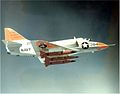 A-4B Skyhawk with AQM-37 target drones in flight 1965.jpeg