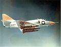 A-4B Skyhawk with AQM-37 target drones in flight 1965.jpeg