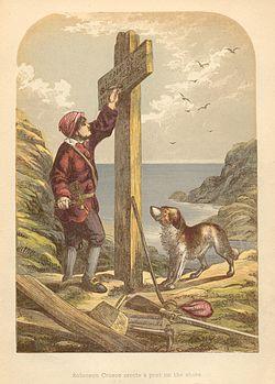 A. F. Lydon Robinson Crusoe Plate 03 (1865)