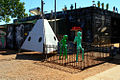 A230, Wycliffe Well, Australia, alien display, 2007.JPG