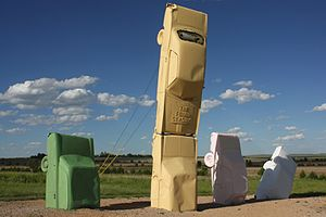 Carhenge - The Fourd Seasons - an artwork at Carhenge