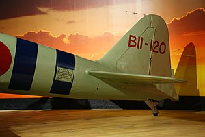 A6M2 Model 21 Zero MfrNo 500- port tail detail.jpg