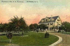 Alexander D. Henderson (businessman) - Residence of Mr. A. D. Henderson, Suffern, N.Y.