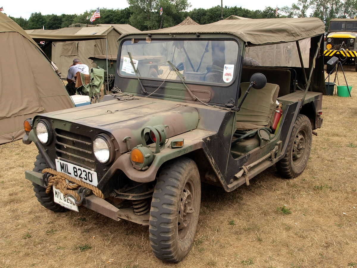 Jeep Brute For Sale >> M151 ¼-ton 4×4 utility truck - Wikipedia
