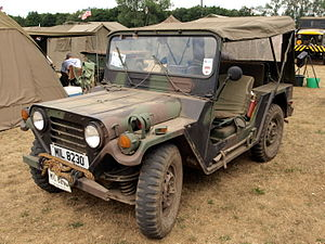 M151 ¼-ton 4×4 utility truck - Image: AMG M151 A2 (1978) GB (owner Gavin Broad)
