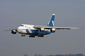 AN-124 approaching Hannover 17 01 09.jpg
