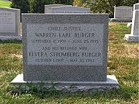 ANCExplorer Warren Burger grave.jpg