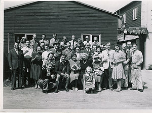 ASA Filmudlejning - The cast and crew of ASA in 1950
