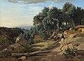 A View near Volterra-1838-Jean-Baptiste-Camille Corot.jpg