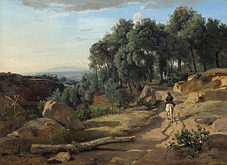 Vue près de Volterra