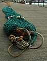 A close look at a fishing net, Bangor - geograph.org.uk - 958876.jpg