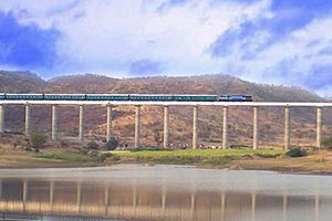 Osmanabad - A railway bridge near osmanabad station