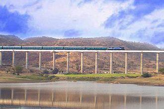 Osmanabad district - A railway bridge near osmanabad station