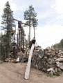 A rubble pile that makes some sort of artistic statement outside Bishop's Castle, a most eclectic art installation 9,000 feet high in the mountains of southern Colorado, up a winding road from San LCCN2015632543.tif