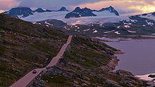 Driving in norway travel guide at wikivoyage sognefjellet pass route 55 one of the many scenic drives in norway publicscrutiny Choice Image