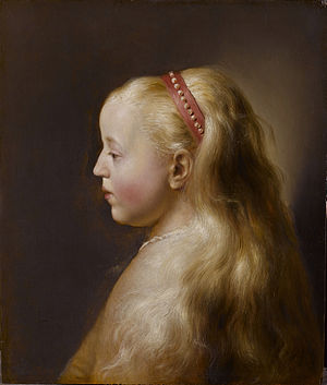 Jan Lievens - A young girl