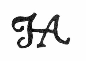 Hendrik Abbé - scanned copy of one of the styles of Hendrik Abbé's signature