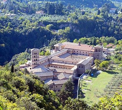 Come arrivare a Monastero Di Santa Scolastica con i mezzi pubblici - Informazioni sul luogo