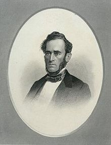 Engraving of Abel Stevens by Fitz Edwin Jones.