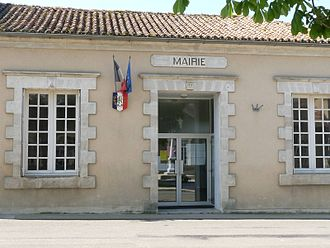 Abzac, Charente - Town Hall